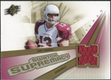 2006 Upper Deck SPx Swatch Supremacy #SWKW Kurt Warner