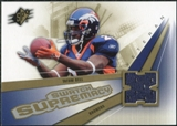 2006 Upper Deck SPx Swatch Supremacy #SWTB Tatum Bell