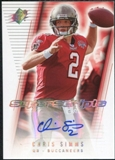 2006 Upper Deck SPx Super Scripts Autographs #SSCS Chris Simms Autograph