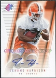 2006 Upper Deck SPx Super Scripts Autographs #SSJH Jerome Harrison Autograph