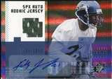 2006 Upper Deck SPx #193 Kelly Jennings RC Jersey Autograph /1650