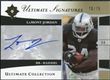 2006 Upper Deck Ultimate Collection Ultimate Signatures #USJO LaMont Jordan Autograph /75