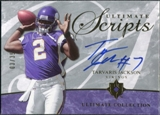 2006 Upper Deck Ultimate Collection Ultimate Scripts #USCTA Tarvaris Jackson Autograph /35