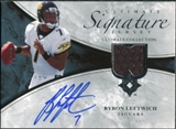 2006 Upper Deck Ultimate Collection Game Jersey Autographs #ULTBL Byron Leftwich Autograph /35