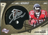 2006 Upper Deck Sweet Spot Gold Rookie Autographs #227 Jerious Norwood Autograph /100