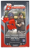 2015 Bowman Baseball Jumbo Box