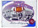 2015 Historic Autograph Signed Jersey Edition Football Hobby Box