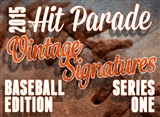 2015 Hit Parade Baseball Vintage Signatures Edition - Series #1  *Chance for Mantle Autographs!