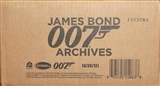 James Bond Archives Trading Cards 12-Box Case (Rittenhouse 2015)