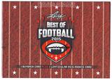 2015 Leaf Best Of Football Hobby Box
