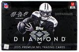 2015 Topps Diamond Football Hobby 6-Box Case- DACW Live @ National 30 Spot Random Team Break