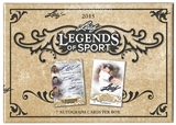 2015 Leaf Legends of Sport Hobby Box