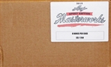 2015 Leaf Masterworks Sport Edition Hobby 8-Box Case