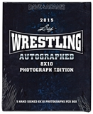 2015 Leaf Wrestling Signed 8x10 Photograph Hobby Box