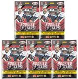 2015 Panini Rookies & Stars Football 7-Pack Box (Lot of 5)