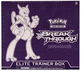 Pokemon XY BREAKthrough Mega Mewtwo X Elite Trainer Box (Purple Box)