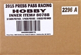2015 Press Pass Cup Chase Racing Hobby 8-Box Case