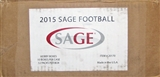 2015 Sage Autographed Football Hobby 10-Box Case