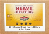 2015 Super Break Heavy Hitters Hobby 4-Box Case