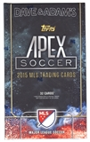 2015 Topps Apex Soccer Hobby Mini-Box