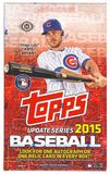 2015 Topps Update Baseball Hobby Box