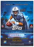 2015 Topps Field Access Football Hobby 12-Box Case- DACW Live 30 Spot Random Team Break #5