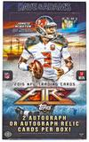 2015 Topps Fire Football Hobby Box