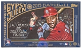 2015 Topps Gypsy Queen Baseball Hobby 10 Box Case - DACW Live 30 Spot Random Team Break #2