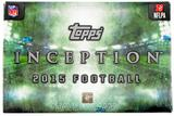 2015 Topps Inception Football Hobby Box