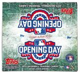 2015 Topps Opening Day Baseball Box