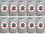 2015 Topps Football 60th Anniversary Retired Autograph Rookie Card Pack (Lot of 10)