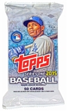 2015 Topps Series 1 Baseball Jumbo Pack