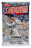 2015 Topps Stadium Club Baseball Hobby Pack