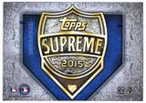 2015 Topps Supreme Baseball Hobby Box