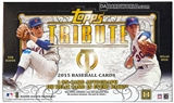 2015 Topps Tribute Baseball Hobby Box