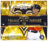 2015 Topps Triple Threads Baseball Hobby Box