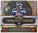 2015 Topps Triple Threads Football Hobby Box