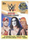 2015 Topps WWE Wrestling 10-Pack Box