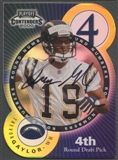 2000 Playoff Contenders #13 Trevor Gaylor & Avion Black Round Numbers Gold Auto #13/40