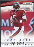 2012 Panini Rookies and Stars True Blue #136 Josh Freeman