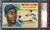 1956 Topps Baseball #105 Al Smith PSA 8 (NM-MT) *8820