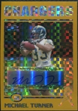 2004 Topps Chrome Gold Xfractors #203 Michael Turner Autograph 130/250