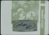 2008 SAGE HIT Autograph Printing Plates Cyan #47 Lavelle Hawkins 1/1