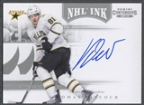 2011/12 Panini Contenders #15 Tomas Vincour NHL Ink Auto