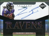 2011 Panini Limited #218 Torrey Smith Jersey Autograph 25/299