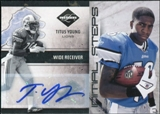 2011 Panini Limited Initial Steps Autographs #9 Titus Young 7/50