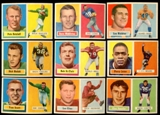 1957 Topps Football Lot of 43 Cards (29 Different) EX-MT