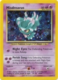 Pokemon Neo Revelations Single Misdreavus 11/64