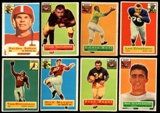 1956 Topps Football Lot of 99 Cards (53 Different) VG