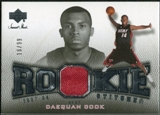 2007/08 Upper Deck Sweet Shot Rookie Stitches #DC Daequan Cook /99